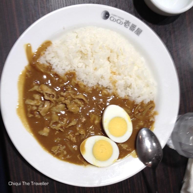 Curry japones comida japonesa