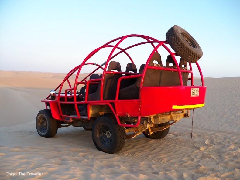Sandboard en el Desierto de Paracas Buggy Tubular