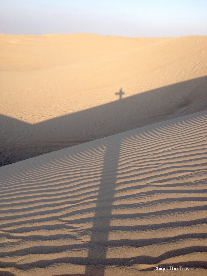Desierto Paracas sandboard duna
