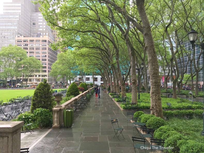 Bryant Parque Nueva York