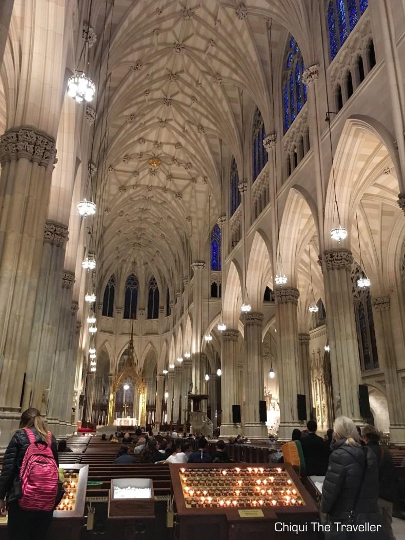 Catedral Nueva York por dentro
