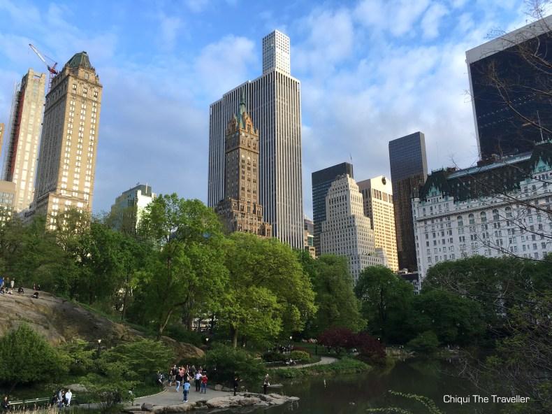 Central Park Nueva York Primavera