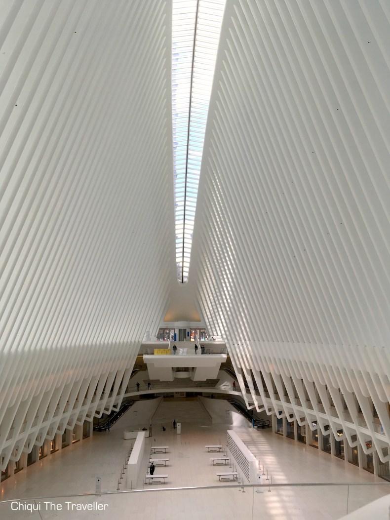 World Trade center Oculus estacion Nueva York Calatrava