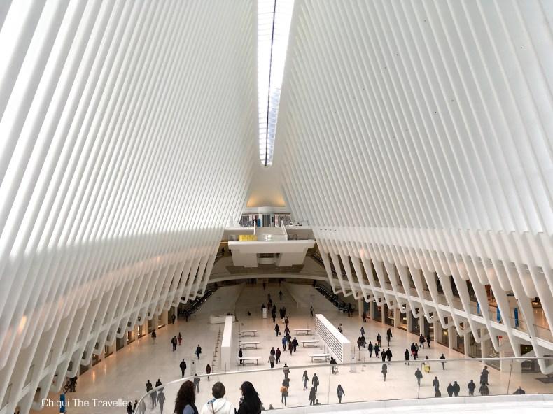 World Trade Center Oculus Station Calatrava New York