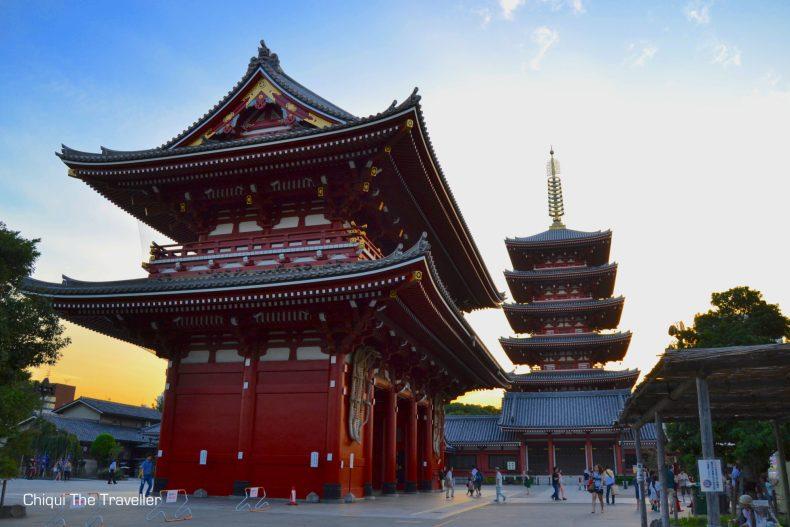 Mejores templos Tokio Sensoji