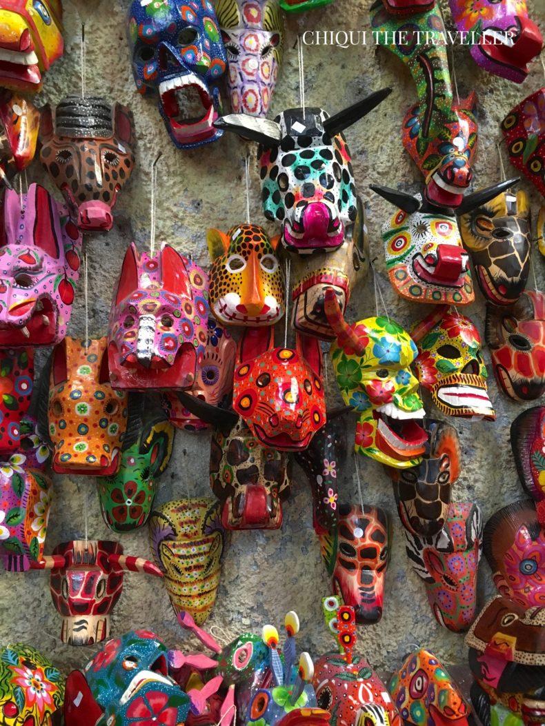 Mascaras Mercado artesanias Nim Pot