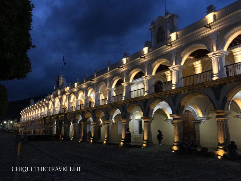Antigua guatemala palacio capitanes generales