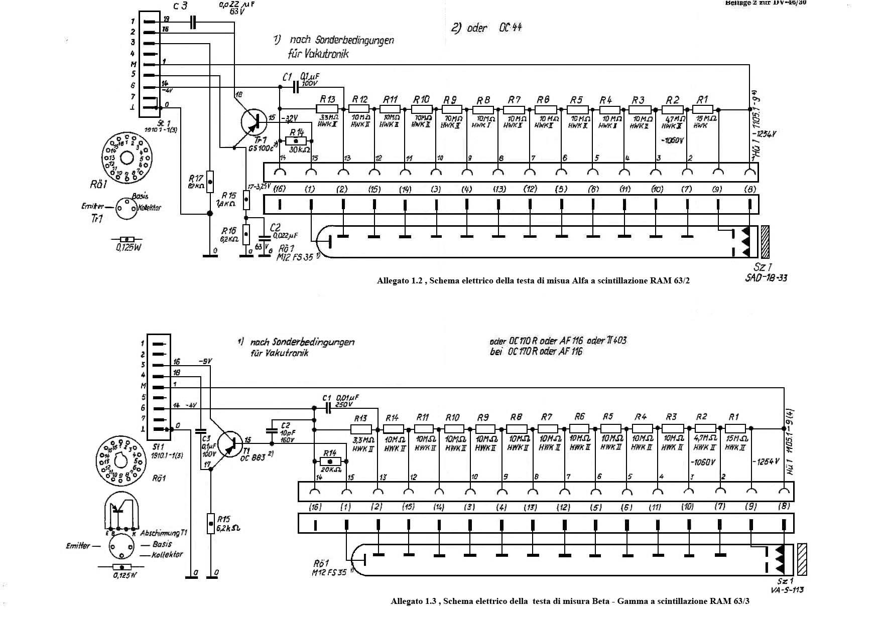 RAM 63 geiger Counter miglioramenti by Roberto Chirio