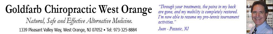 Chiropractor West Orange