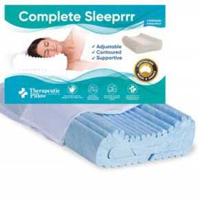 complete sleeprrr memory foam gel