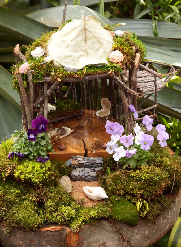 Inspiration And Recycling Ideas From Fairy Gardens and