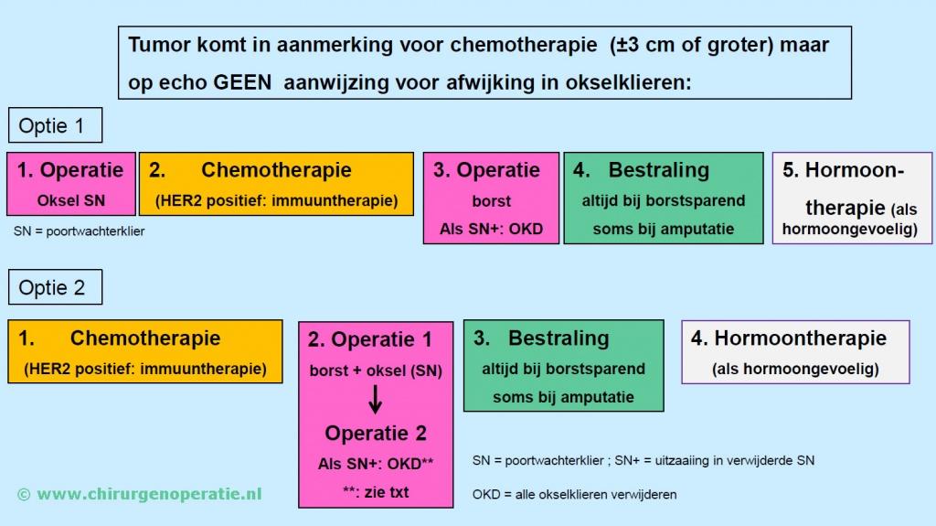 Afbeeldingsresultaat voor AC-T-schema borstkanker