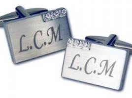 Personalized Cufflinks - Ideal Gift for Men