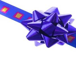 Gift Wrap Bows And Four More Present Ideas