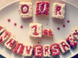 Gifting A Cake For An Anniversary