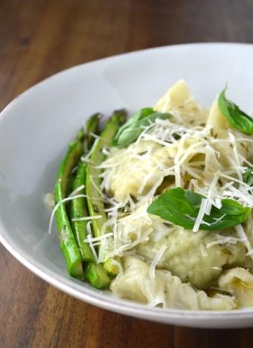 Asparagus Ravioli