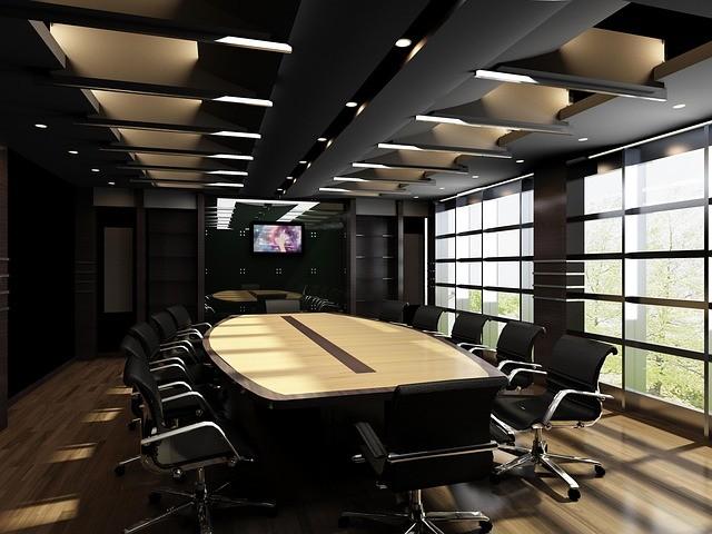 スタイリッシュな会議室