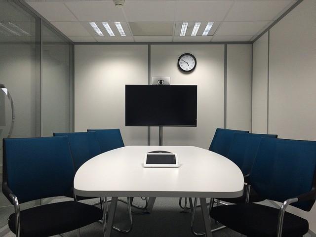 スタイリッシュなミーティングルーム
