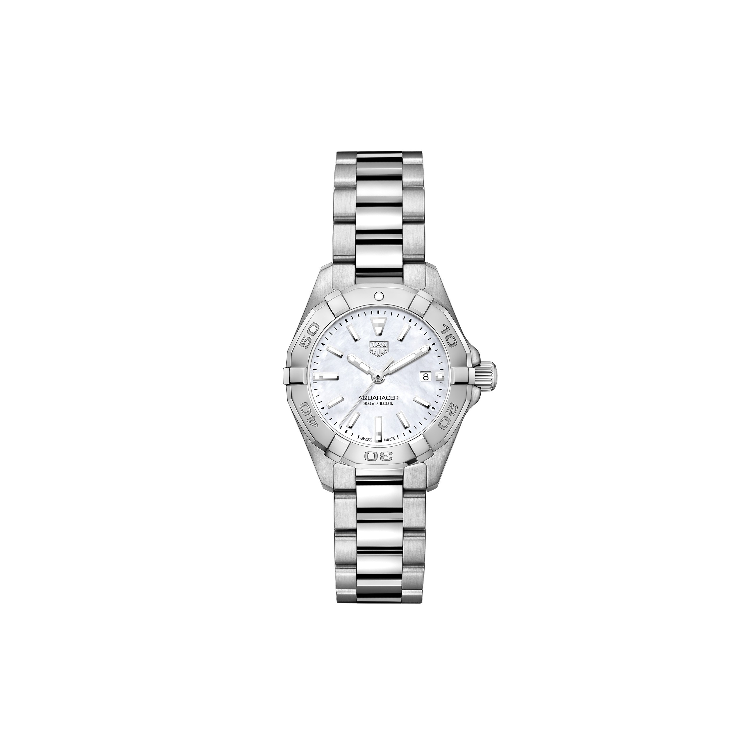 Tag Heuer Aquaracer Mother Of Pearl Dial Stainless Steel
