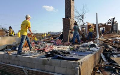 Bringing Hope to Holly Springs: Day 3– Wheelbarrows and Digging In