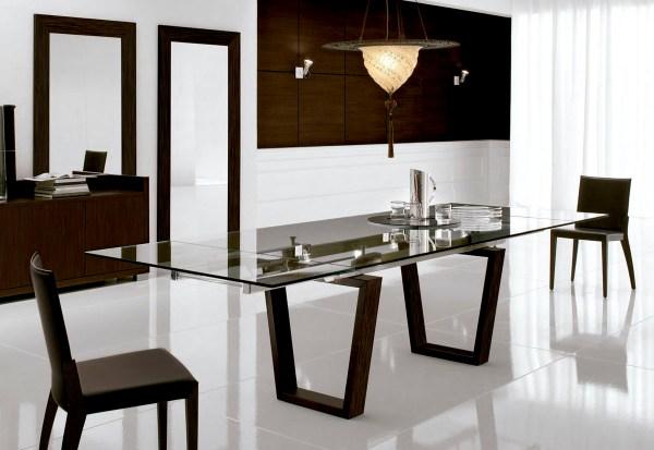 salón comedor moderno en color clasico