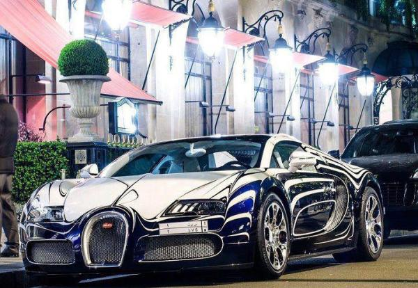 Bugatti-Veyron-LOr-Blanc-or-White-Gold