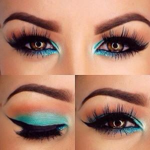 Maquillaje-de-Noche-para-ojos-marrones-2