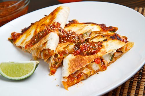 Sweet Chili Chicken Quesadilla 500 4577