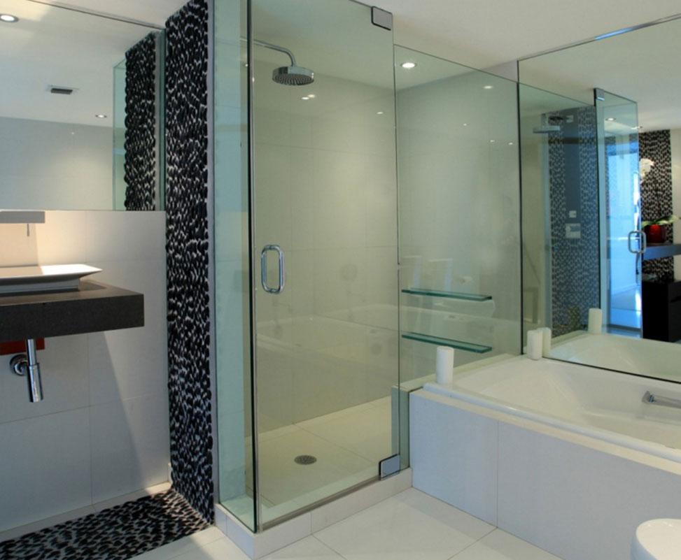 Cabinas de duchas en ba os modernos for Aseos modernos con ducha