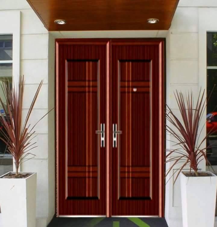 Puertas para exteriores for Como hacer puertas de madera para entrada principal