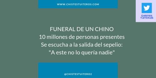 Funeral de un chino
