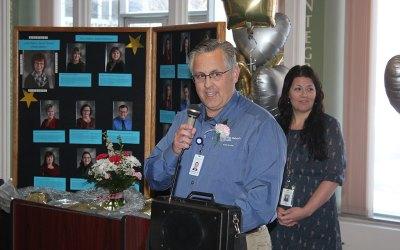REHAB DIRECTOR RECEIVES FRANCIS AWARD AT CHI ST. GABRIEL'S HEALTH