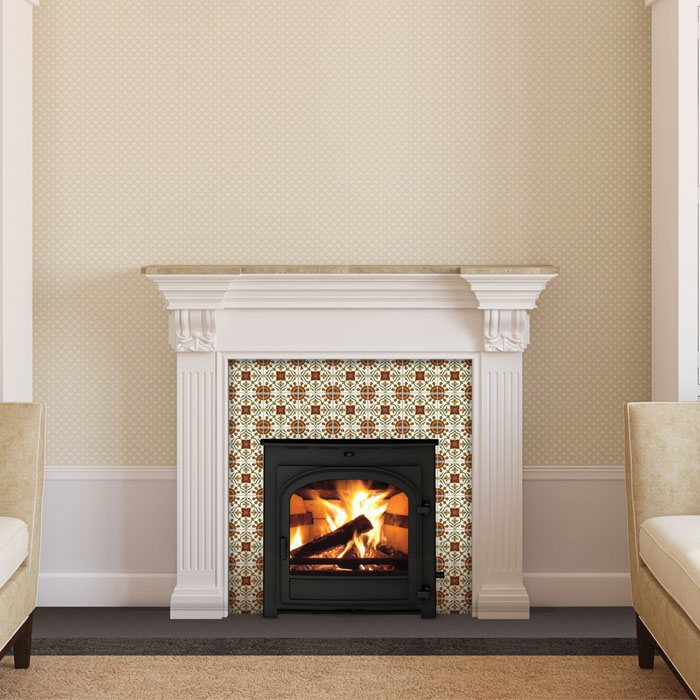 Parkray Chevin 5 Inset  Chiswell Fireplaces
