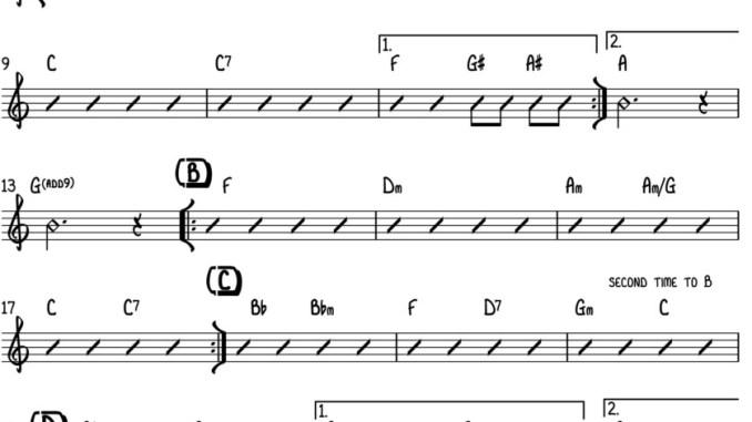 Starman - Tutto lo spartito per chitarra e pianoforte