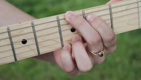 Il Giro di do con la chitarra elettrica