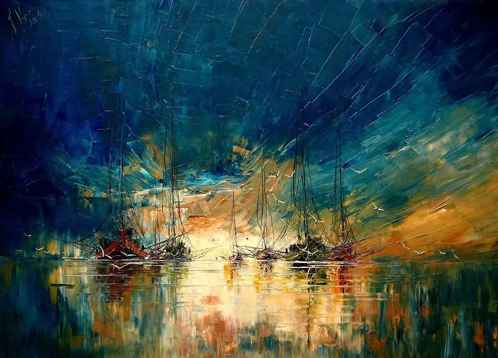 Морските истории на Юстина Копаня