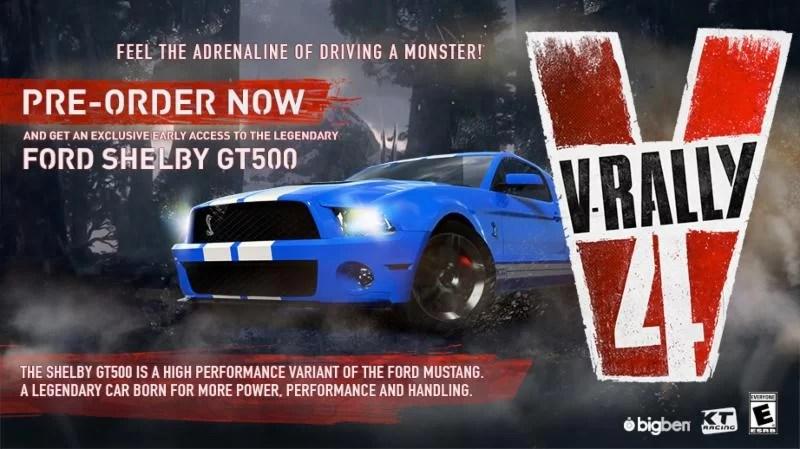 V-Rally 4 Pre-Order Bonus
