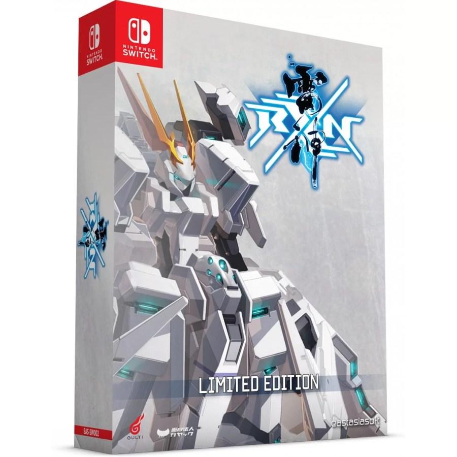 RXN -RAIJIN- ltd ed. box art