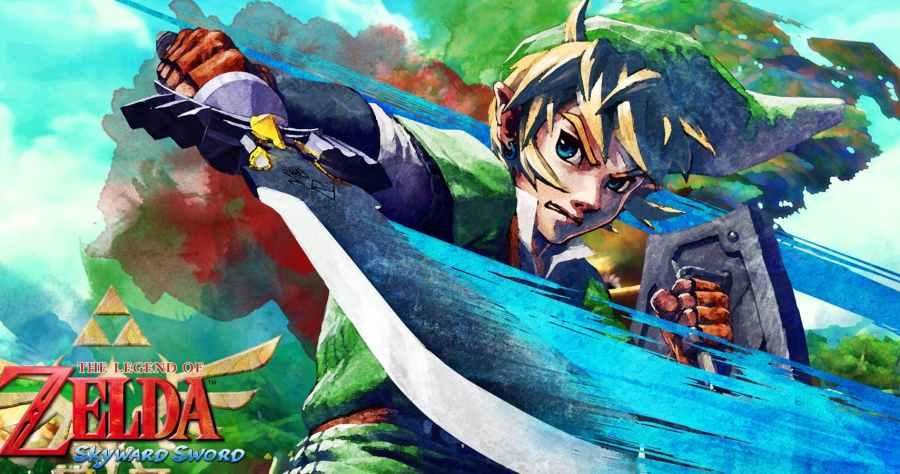 The Legend of Zelda: Skyward Sword keyart