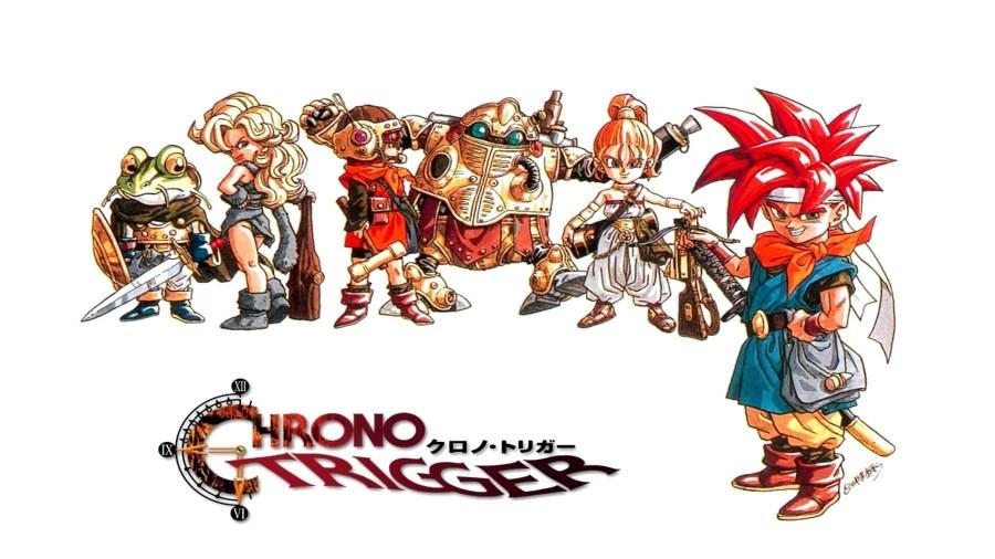 Chrono Trigger keyart