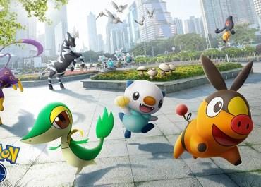 Pokémon Go Unova keyart