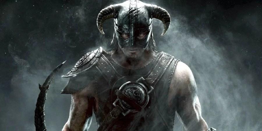 The Elder Scrolls V: Skyrim keyart