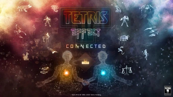 Tetris Effect Connected keyart