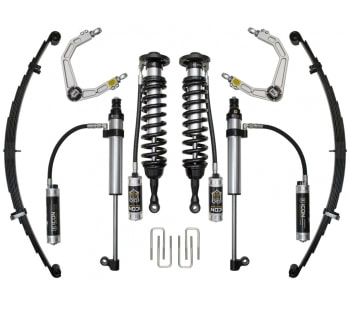 Icon Suspension Kits Staged for Toyota Tundra