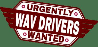WAV Drivers Wanted!
