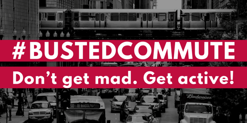 MPC # BustedCommute campaign shows the infrastructure for failed transports