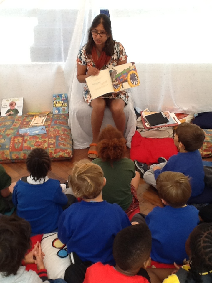 Storytelling at Rosendale Primary