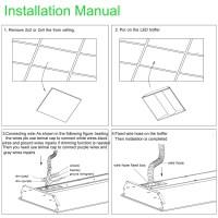 2x2 LED Troffer Recessed Ceiling Light Fixtures | Chiuer