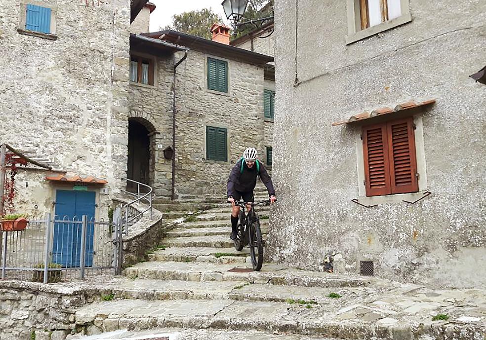 trail 1 - eremo della casella - chiusi verna bike