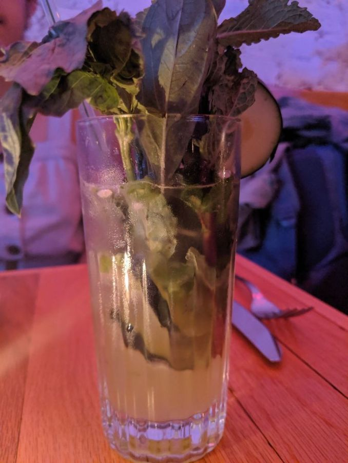 Superkhana Greens and Tonic Cocktail